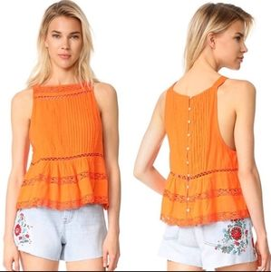 """Free People """"Constant Crush"""" top L"""
